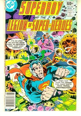 SUPERBOY and the LEGION of SUPER-HEROES #242 (DC Comics, 1978) NM!