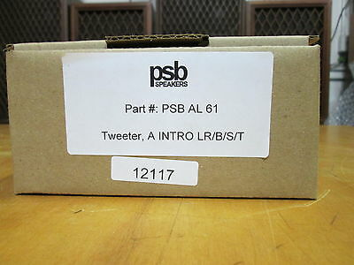 NEW PSB AL 61 Replacement Tweeter for PSB Alpha Intro
