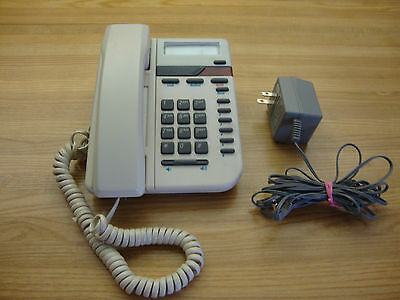 Vintage Almond Vista 100 Northern Telecom Desk Telephone Made In Canada