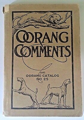 OORANG Comments Catalog #25 Airedale Terrier Dogs 1922