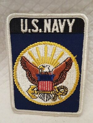 Military U.s Navy Embroidered Patch