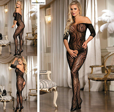 Hot Reizwäsche Fishnet Body Stocking Catsuit Netz Body Unterwäsche XS-L | H3127