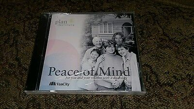 Plan Institute Peace Of Mind You and Relative Disability Van City CD Rom New Nip