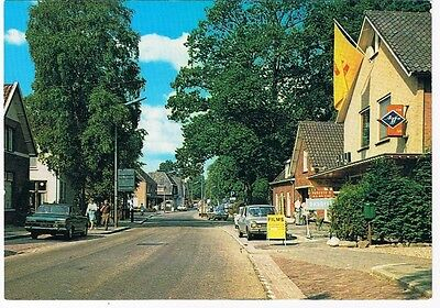 Holland Netherlands Postcard Beekbergen Dorpsstraat