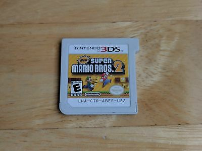 New Super Mario Bros. 2 (Nintendo 3DS, 2012) GAME ONLY