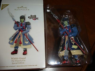 Hallmark Ornament In Box Winkie Guard Wizard Of Oz  2012