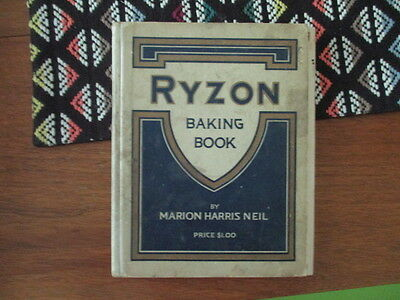 Ryzon Baking Book by Marion Harris Neil 1916 New York