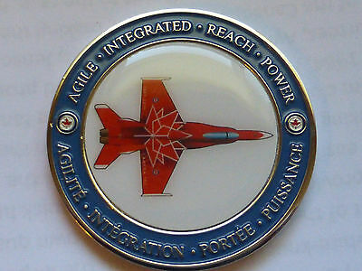 Canada 150  Cf-18 Air Force   Rcaf  Challenge Coin