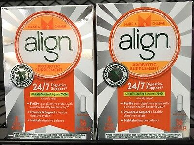 Align Probiotic Supplement 112 Capsules 24/7 Digestive System Support EXP 06/18