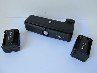 Nikon MB-1 Battery Pack w/2x MS-1 Holders for MD-1/MD-2/MD-3 Motor Drives  ****