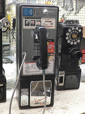 Really Coin Op Voice Prompt Vintage Antique NY City Payphone Pay Telephone Phone