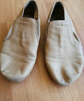 bloch jazz tan shoes size 13