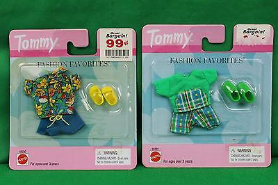 1999 Mattel Barbie Tommy Brother of Ken Fashion Favorites Clothes Clothing Lot