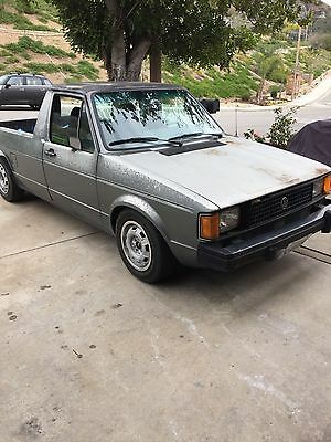 1982 Volkswagen Other Pick up Rust free California rabbit pickup caddy