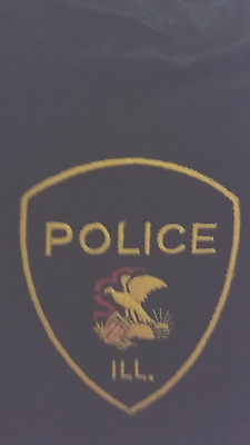 generic illinois police  patch old state  seal