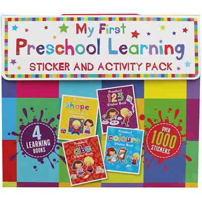 My First Preschool Learning Pack (Paperback), Children's Books, Brand New