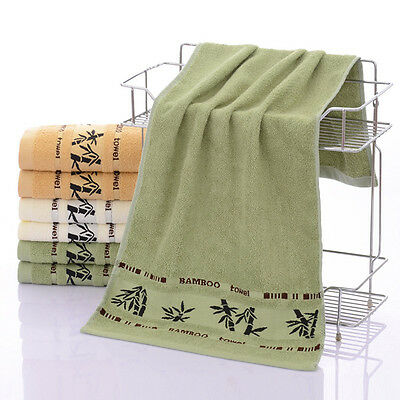 Vogue Bamboo Cotton Bath Towel Highly Absorbent Soft Gym Spa Bathroom Washcloths