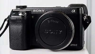 Sony Alpha NEX-6 16.1 MP E Mount Mirrorless Camera Body Only - Great