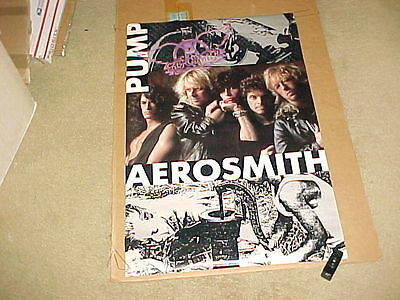 Aerosmith Group Poster #4 Pump 1989 Brockum