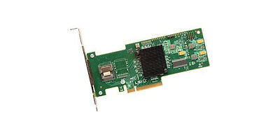 LSI MegaRAID 9240-4I 4 Port 6Gbps Low Profile Controller Card No Cables - 54361