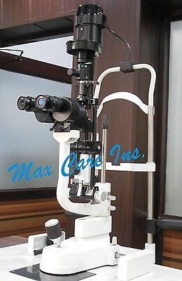 Two Step Magnification Slit Lamp CE Approved