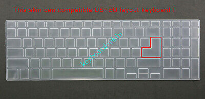 Keyboard Skin Cover Protector for Dell Inspiron 15-7566 15-7567 series laptop