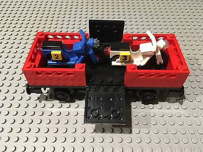 Lego 12v Train Vintage Carriage From Set 7735