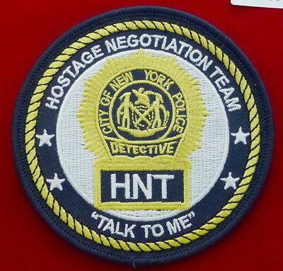 NYPD Hostage Negotiation Team - talk to me- #N102