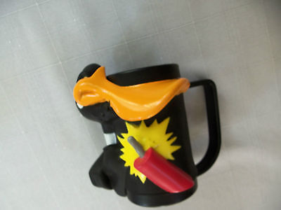 Daffy Duck Collector's Mug - Plastic - Pre-Owned But Unused - Exc. Cond.
