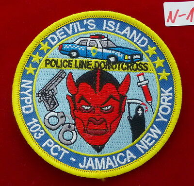 NYPD 103rd Precinct Devils Island Patch