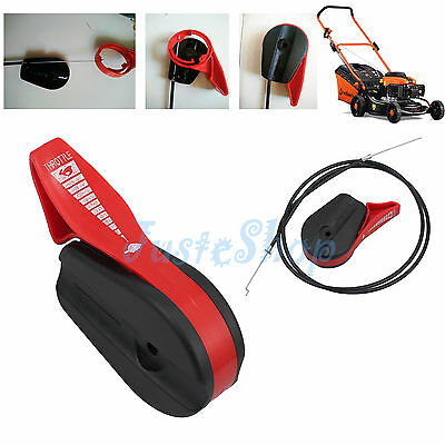 New Universal Mower Throttle Control Cable & Lever for Electric Petrol Lawnmower