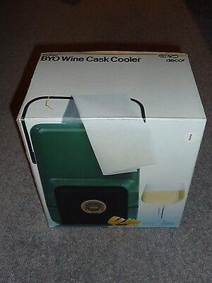 Vintage Decor BYO Wine Cask Cooler in original packaging