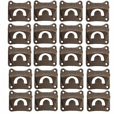 20PCS Retro Cast Iron Wall Mounted Vintage Bottle Opener Beer Wine Bar Pub Tool