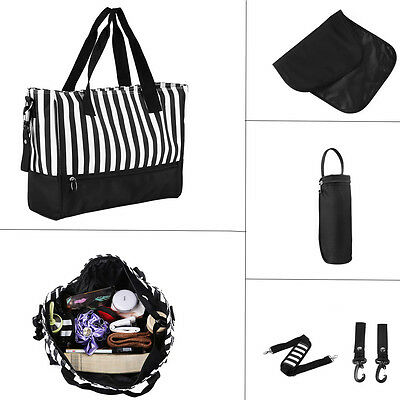 Baby Changing Bags Large Nappy Waterproof Mummy Mother Shoulder Bag Travel Bag