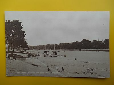 Boat Landing Stage River Tay PERTH Perthshire *Vintage* c1930s