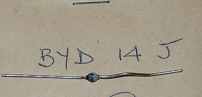 New Old Stock Components - Byd14J Diode Rectifier  Quantity 1. Box 1