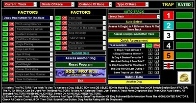 DOGPRO Professional Greyhound Racing System