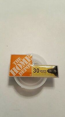 Home Depot 30 years pin.