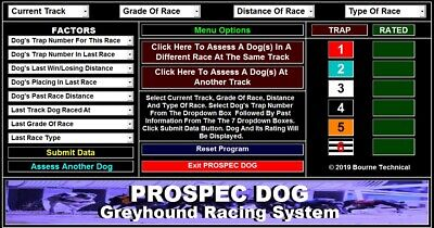 PRO SPEC High Performance Greyhound Racing System
