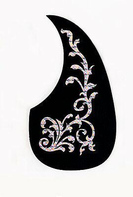 Acoustic Guitar Self-Adhesive Teardrop Pickguard Tree of Life Scratchplate UK