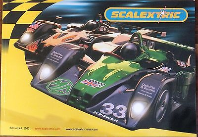 Scalextric 2003 44Th Edition. Catalogue . Uk Dispatch.