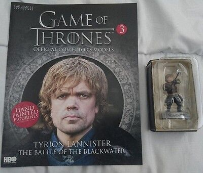 Game of thrones eaglemoss collectors figure Tyrion Lannister #7