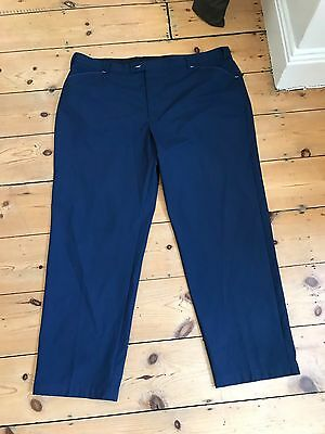 Stromberg Wintra Mens Golf Trousers In Navy 44 Waist