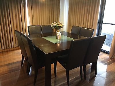 Adriatic 8 Seater Dining Table And Chairs
