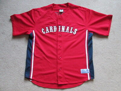 St Louis Cardinals MLB Baseball Button Down Jersey - Rolen #27 Mens Extra Large