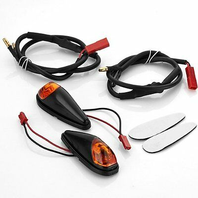 Motorcycle Led Blinkers Turn Signals Light Universal Motorbike Indicators 12V AU