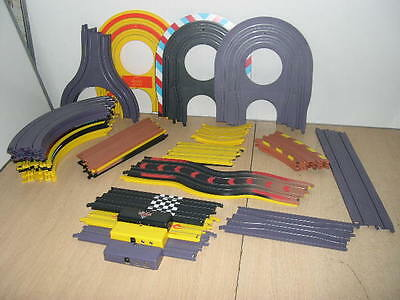35 X Pieces Assorted Micro Scalextric Track / Items