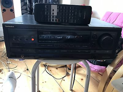 Technics Stereo Receiver Sa Ax710 With Remote, Quality Amp