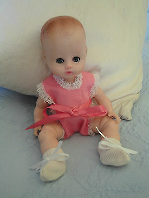 """Cute Little Pink Sun Suit and Booties For An 8"""" Ginnette Doll or Others"""