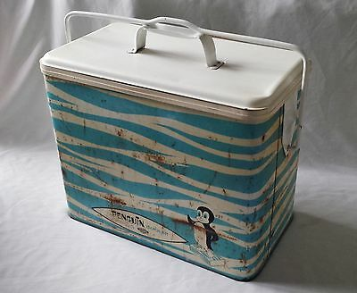 Vintage C1970's Willow Penguin Cooler Esky - Camping Picnic